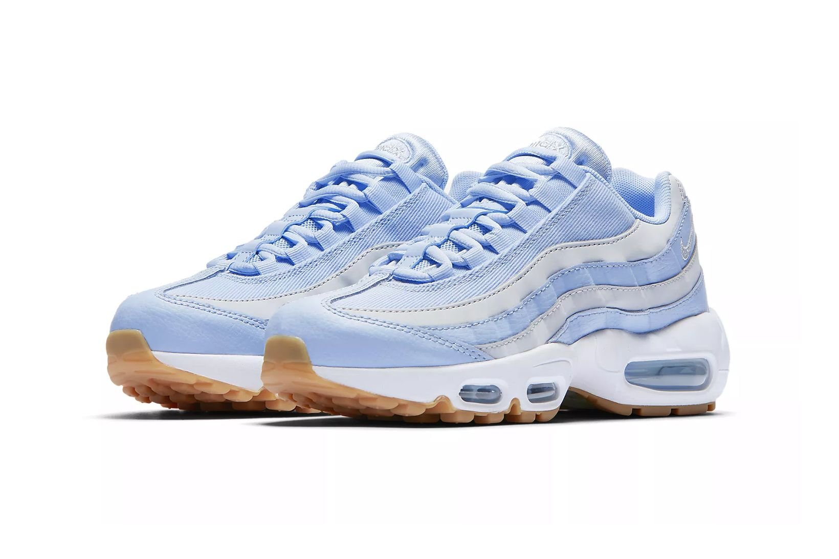 ea3d64d2152 Nike's Baby Blue Air Max 95 Is Fresher Than Ever Before in 2019 ...