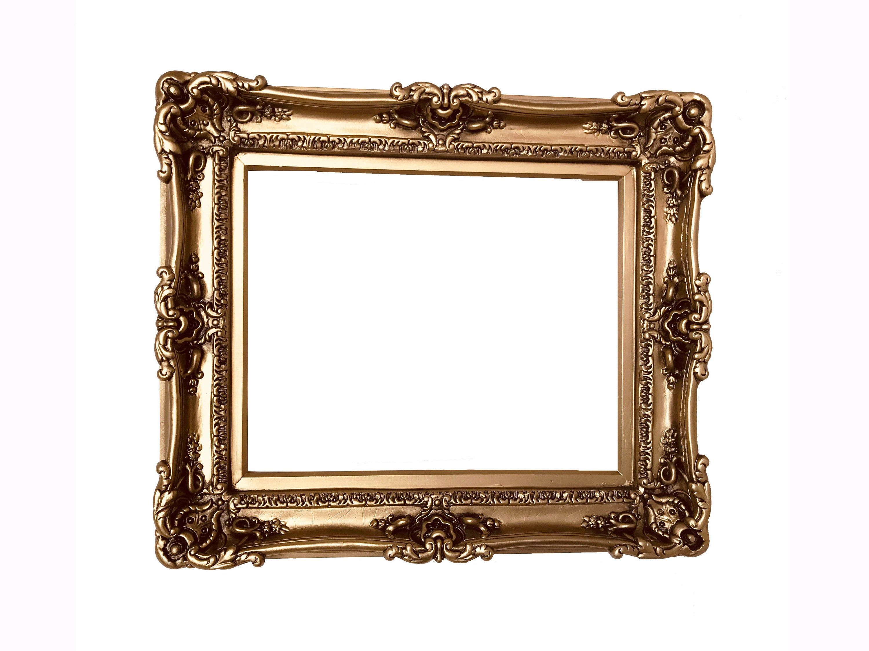 12x16 Shabby Chic Bronze Frame French Style Frames Etsy In 2020 Large Picture Frames Baroque Frames Baroque Mirror