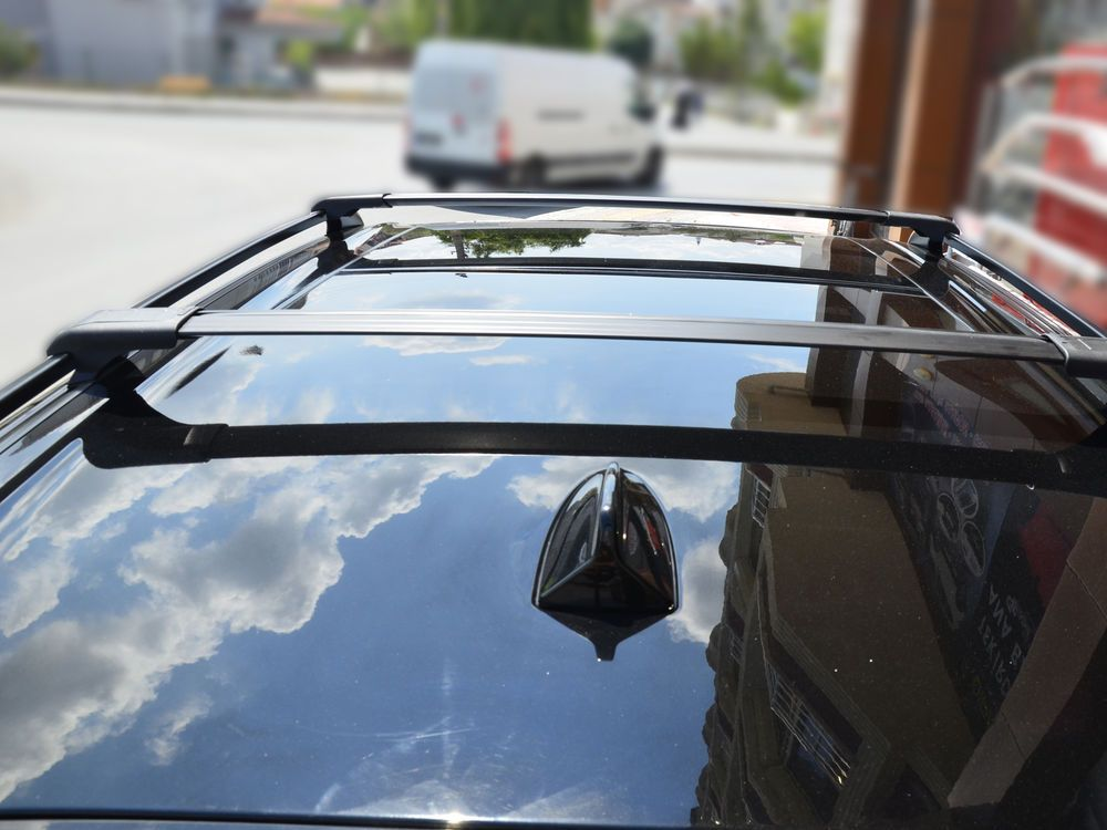 Details about CHEVROLET CAPTIVA LOCKABLE CROSS BARS ROOF