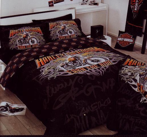 Harley Davidson Harley Davidson Decor Harley Davidson Bedding Harley