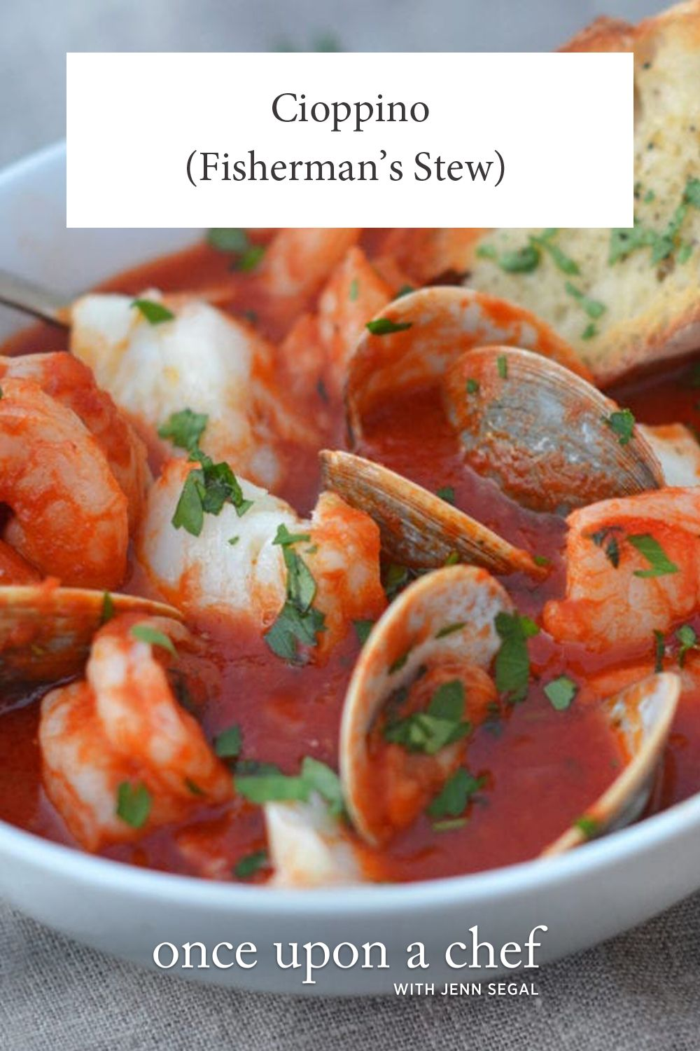 Cioppino Fisherman S Stew Once Upon A Chef Recipe Stew Healthy Recipes Food