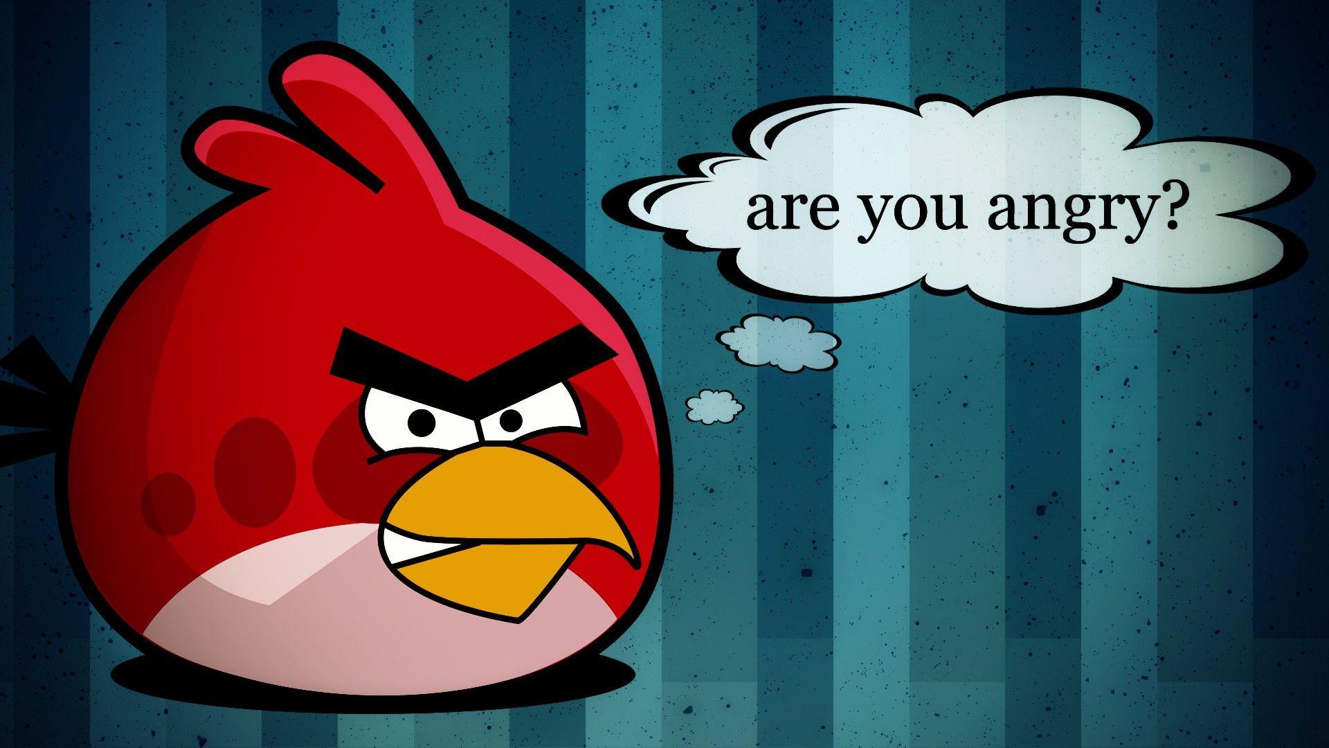 cartoon angry birds wallpaper
