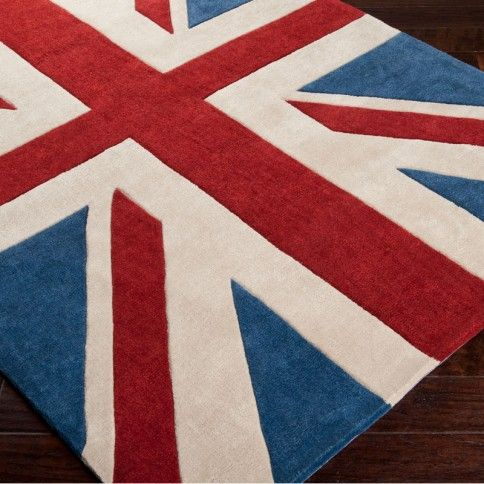 I'm a nut about certain Union Jack stuff. Love this rug.