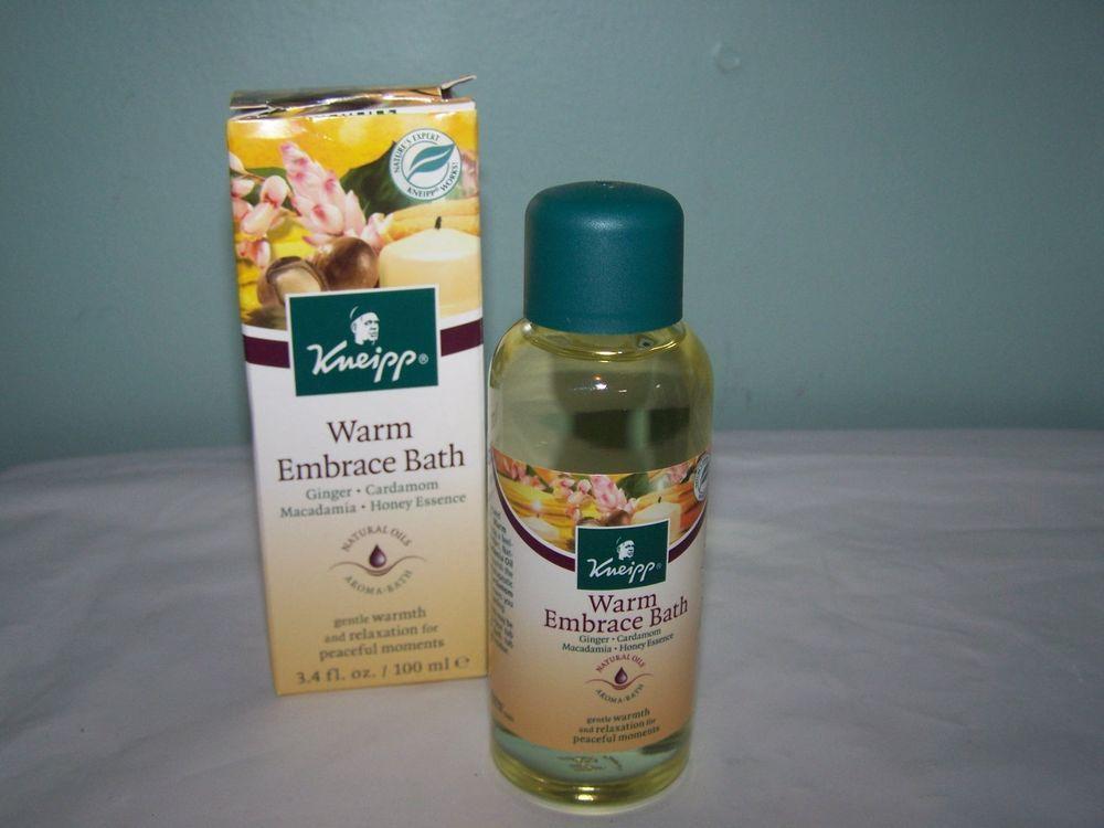 Kneipp Warm Embrace Aroma Bath Ginger Cardamom 3.4 Fl Oz Oil #Kneipp
