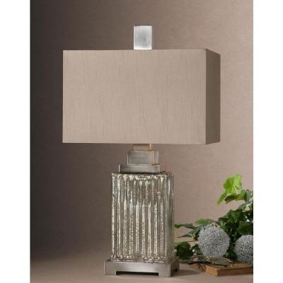 Global Direct 28 In Multi Colored Mercury Glass Table Lamp 26289 1 The Home Depot Mercury Glass Table Lamp Glass Table Lamp Table Lamp