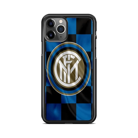 Inter Milan Logo Flag Wallpaper iPhone 11 Pro Case Miloscase