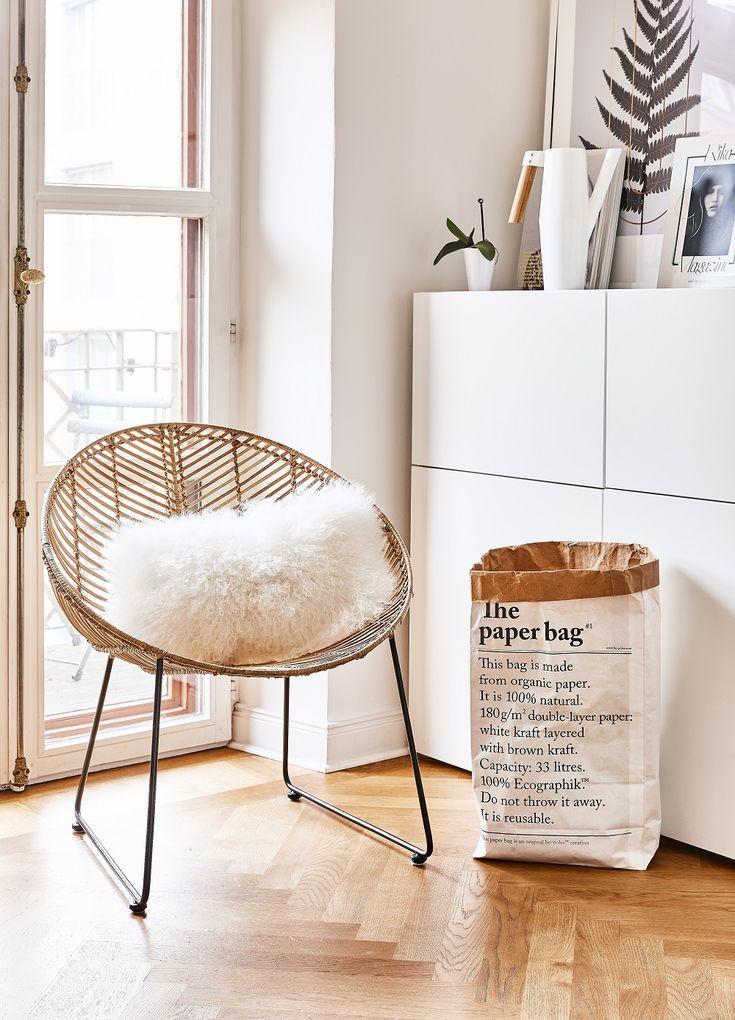 rattan ist nicht nur was f r outdoor gerade im winter macht sich ein rattan sessel mit. Black Bedroom Furniture Sets. Home Design Ideas