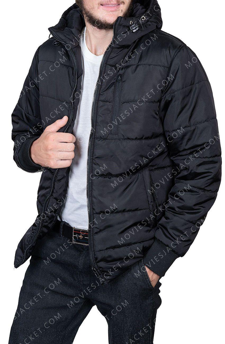 Black Lightweight Puffer Jacket With Hood Men S Outfit Coats Jackets Puffer Jacket Outfit Black Puffer Jacket Mens Outfits [ 1300 x 850 Pixel ]