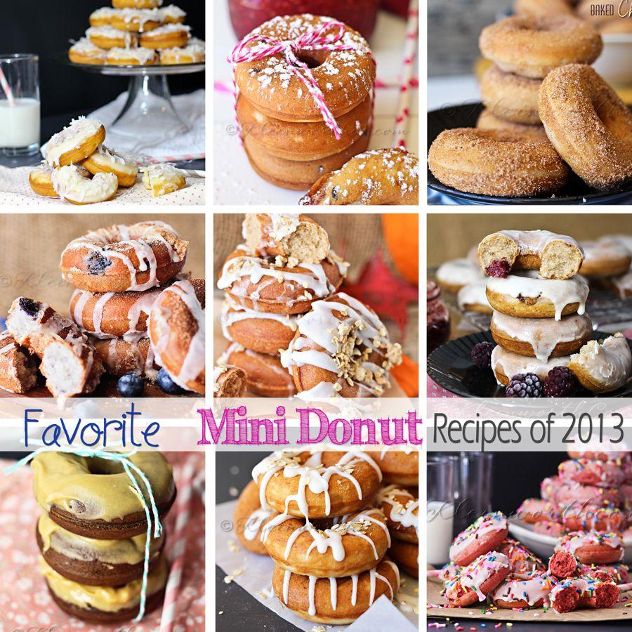 Favorite Mini Donut Recipes
