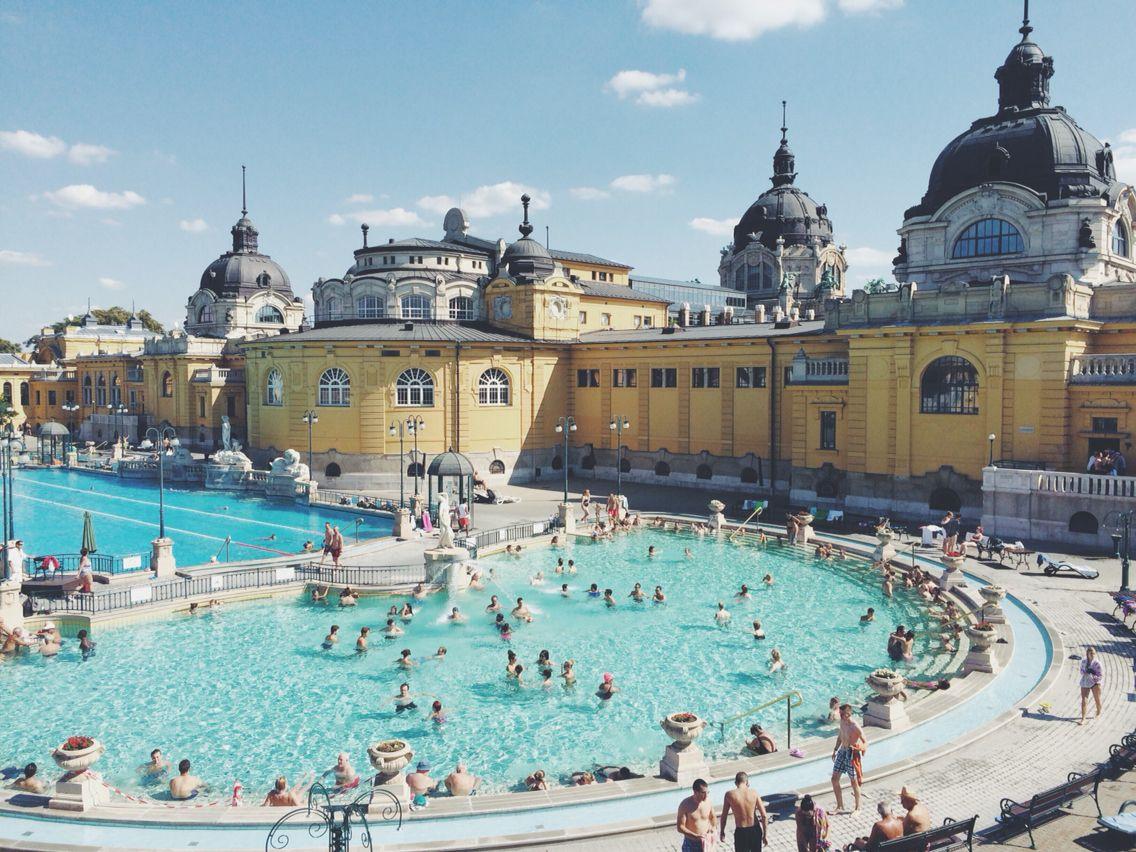Széchenyi termalbad, Budapest