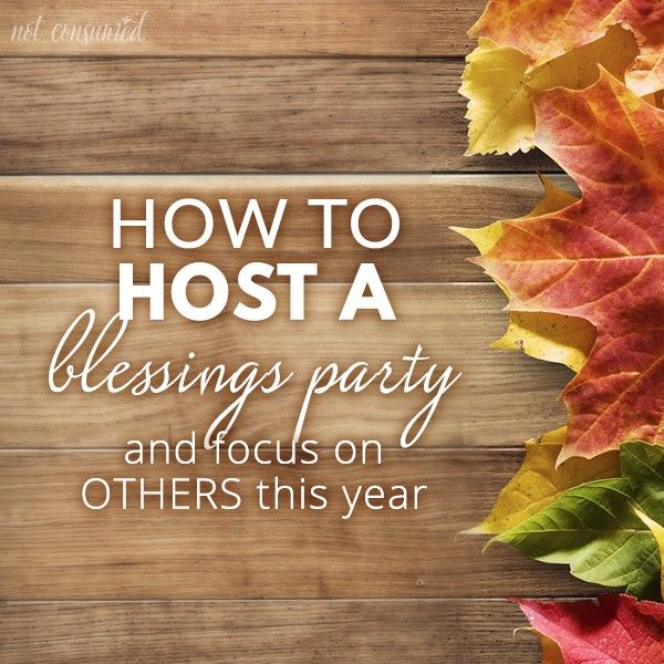 How to Host a Blessings Party: Gratitude Activities that Give Back