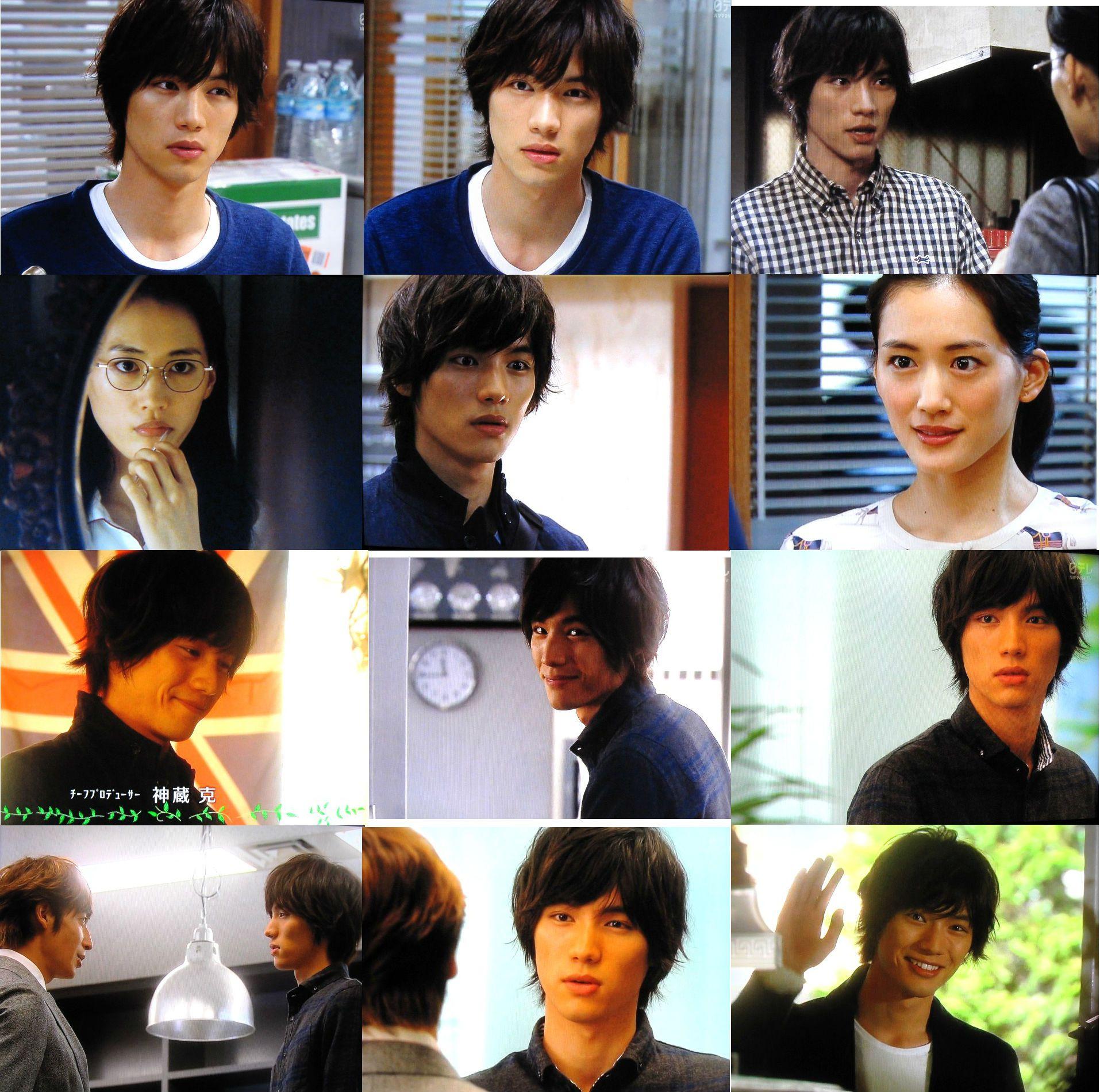 J Drama Ele scene: ep.2-3. haruka ayase, sota fukushi, hiroshi tamaki, yudai
