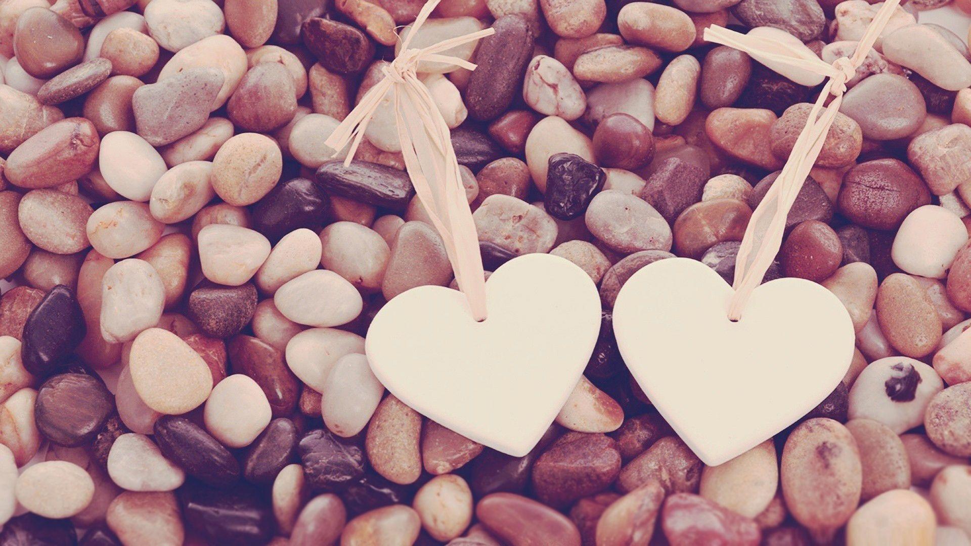 Hd wallpaper you need - Two Hearts 1080p Hd Wallpaper Love