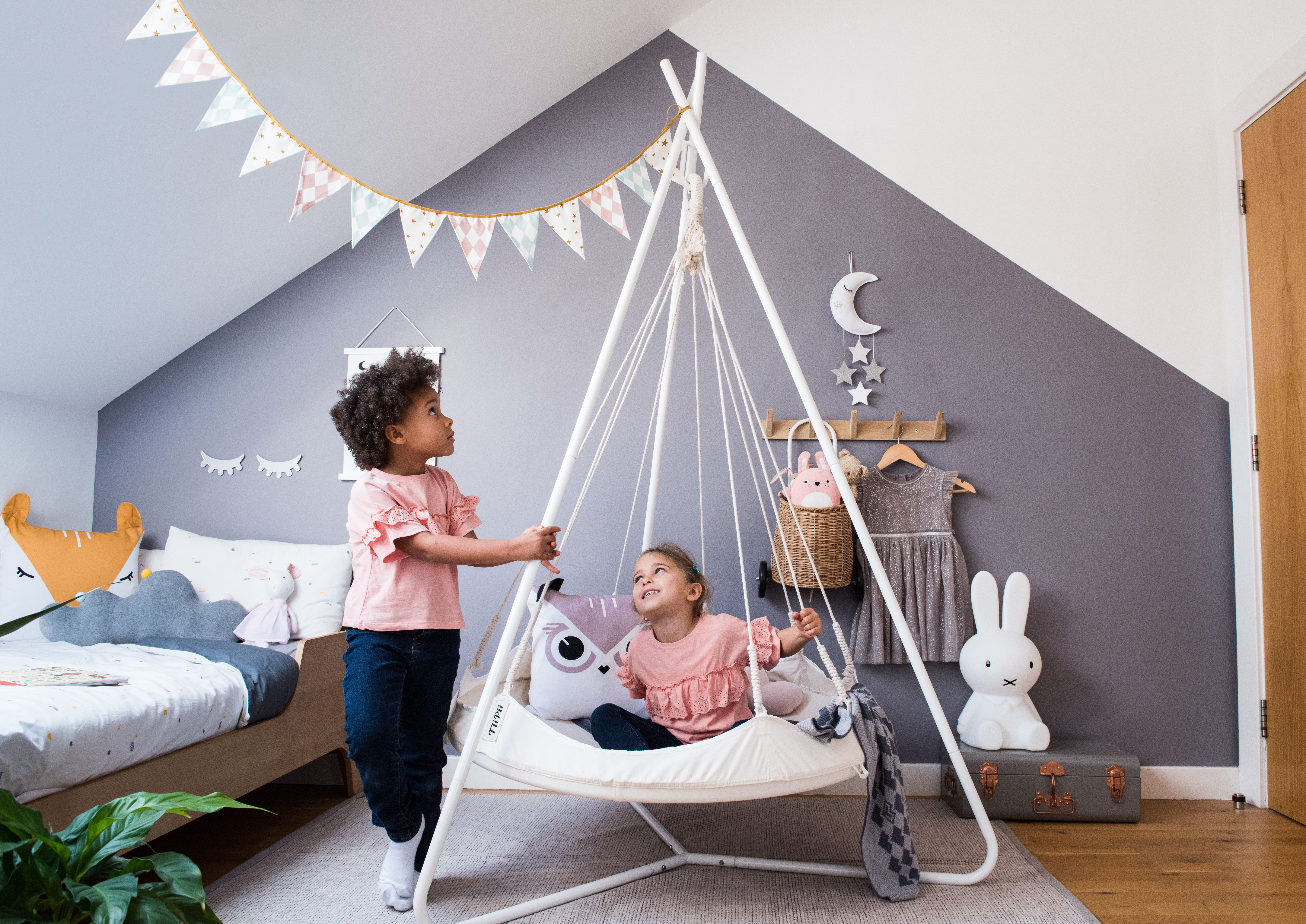 3 ft Bambino Hanging Kids Bed - White / Bed | Kid beds ...