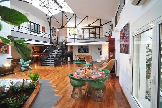 Chambres d\'hotes Loft Vintage Lyon | Hotels: Europe | Pinterest ...