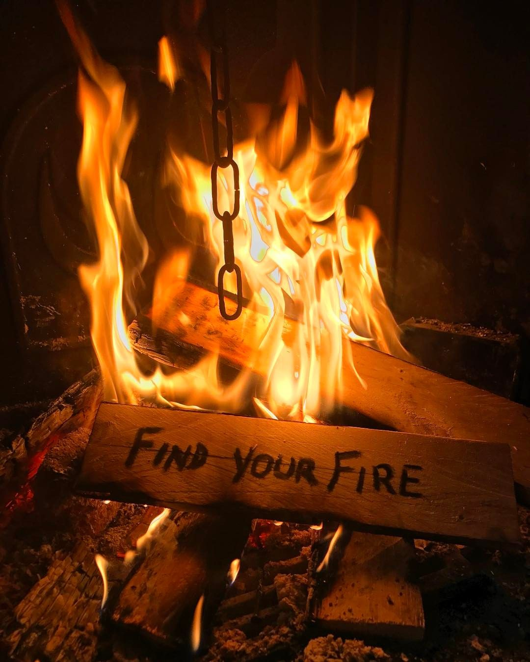 🔥Find your fire🔥 #fire #quote #fireplace #burn #photography #charcoal  #like #🔥 | Fire quotes, Fire image, Finding yourself