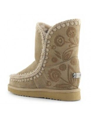 9281182c544e Mou Eskimo Inner Wedge With Studs   Crystals Short Boots Sage  mou  eskimo   wedge  BlackFriday  Halloween  Christmas