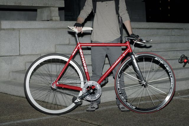 triangle fixies: Aluminum Schwinn | Shared from http://hikebike.net