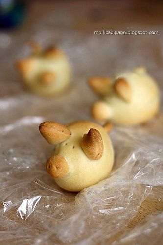 Pigs in a blanket? - theyre so cute i wouldnt even want to eat them!
