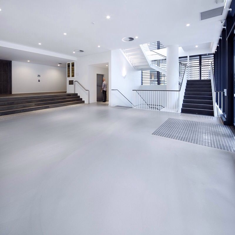 Pandomo Boden pandomo floor plus a 6mm polishedcement topping for urbanest
