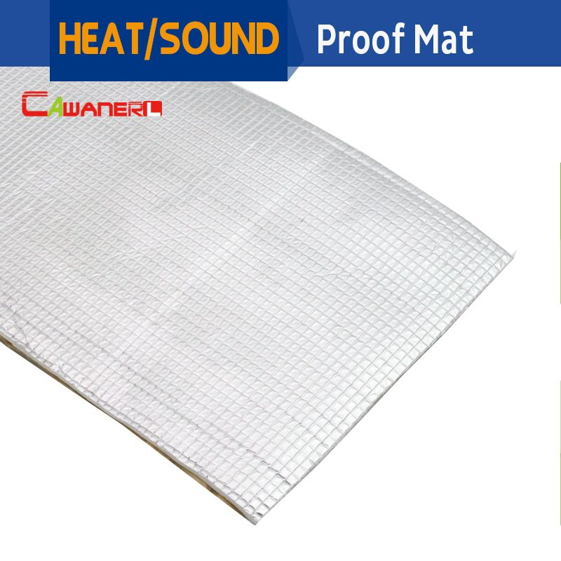 Cawanerl 1Pcs 20cm x100cm Car Body Sound Heat Insulation