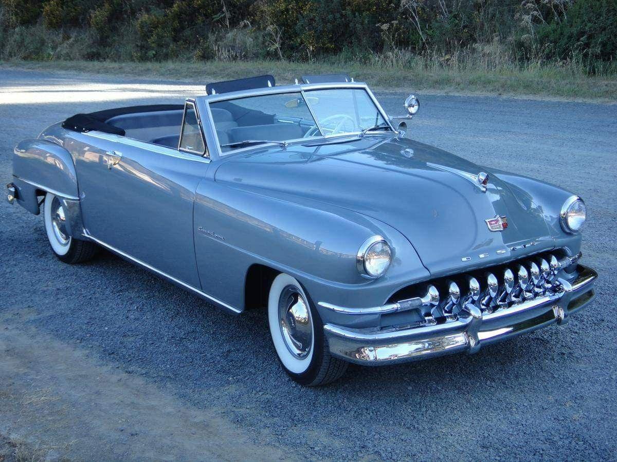 Drop top friday 1952 desoto custom convertible cool old