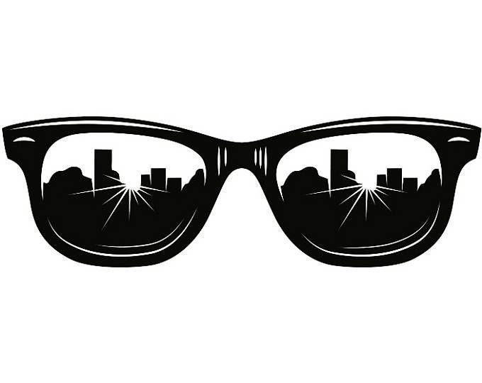 Sunglasses 3 Reflection Wayfarer Shades Sunnies Sun Glasses Eye Wear Fashion Uniform Logo Svg Eps Png Clipart Vector Cricut C Unique Artwork Svg Sunglasses