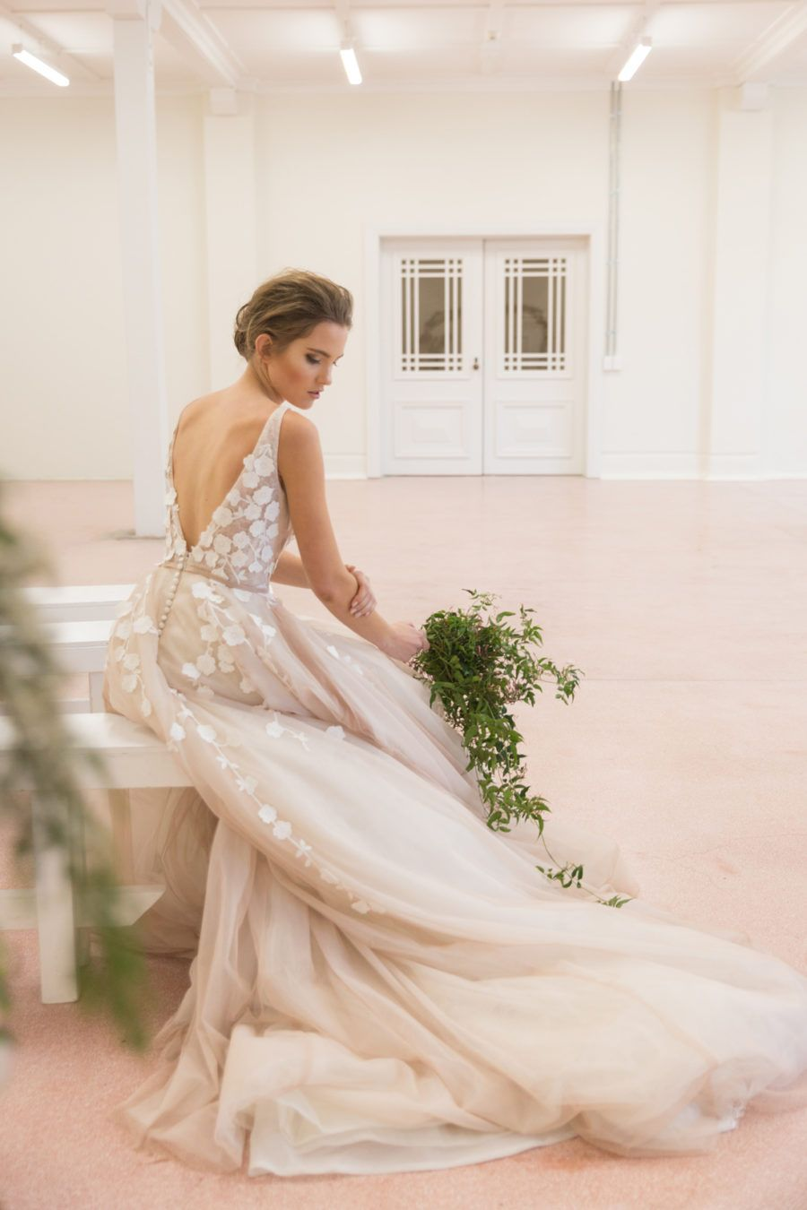 Timeless Inspiration in Blush & White | Wedding dress, Weddings and ...