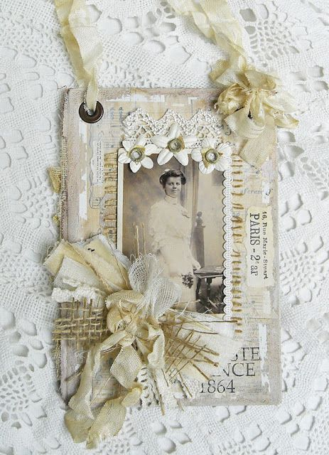Shabby Chic Inspired Decorative Frames Pinterest Manualidades - Manualidades-shabby-chic