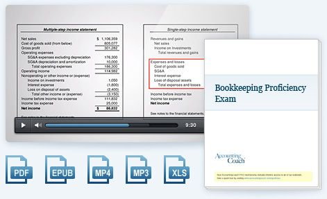 Bookkeeping Training - A free online bookkeeping course - free accounting ledger