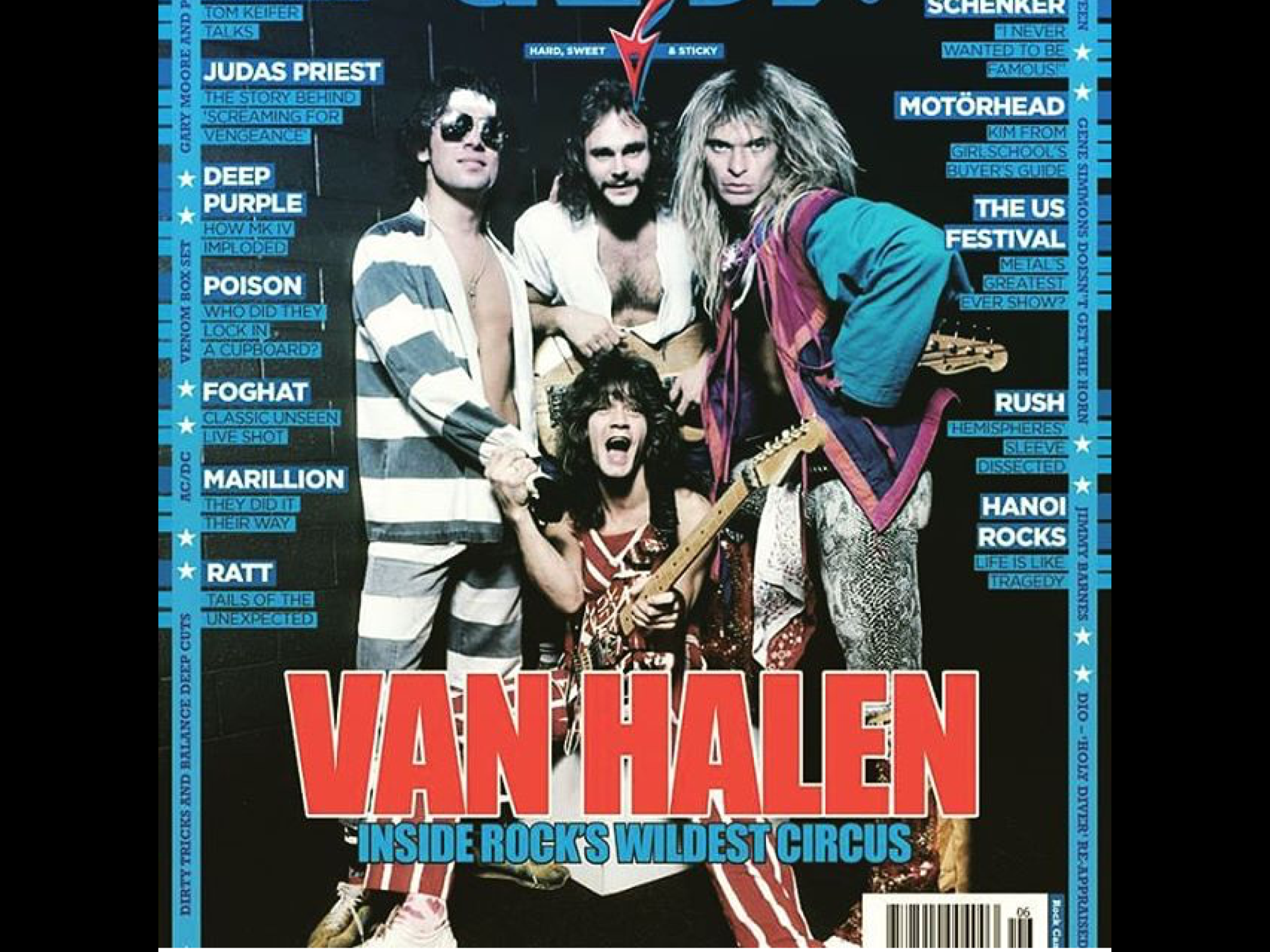 Alex Van Halen Michael Anthony David Lee Roth Eddie Van Halen Alex Van Halen Van Halen Eddie Van Halen