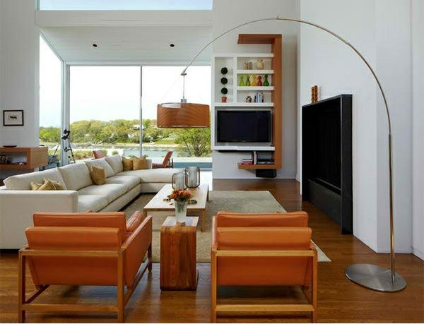 TV Wohnwand Im Modernen Wohnzimmer   15 Inspirierende Beispiele | Tv  Wohnwand, Eingebaut Und Einfache Plätzchen