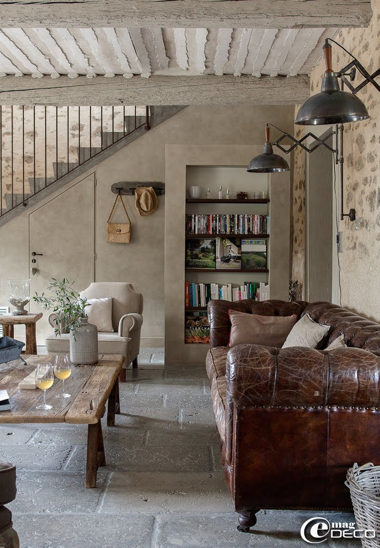 A Heart In Provence Discoveries French Country Decorating Living Room French Country Living Room Country Living Room French industrial living room