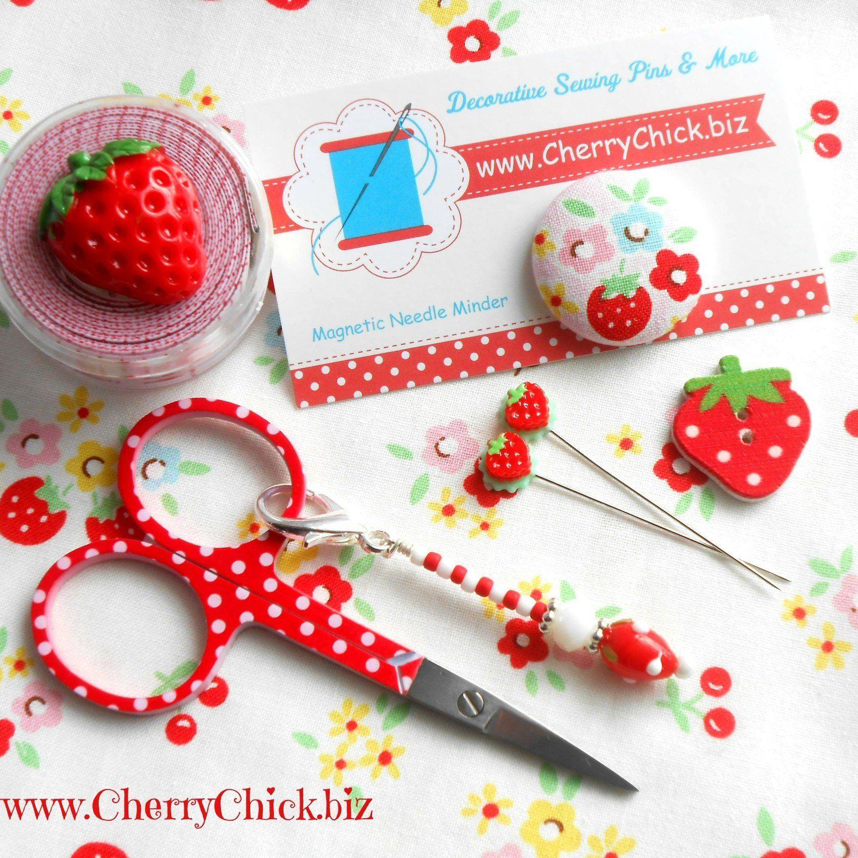 Large Cherry Blossom Needle Minder