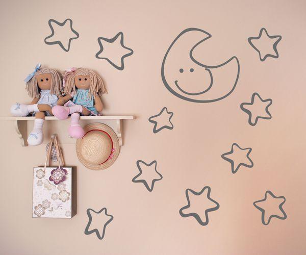 vinilos decorativos infantiles vinilos infantiles de estrellas para la decoracin de interiores y paredes de