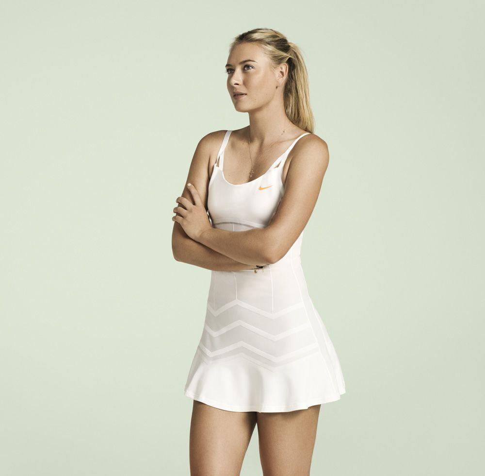 Nike Tennis Collection For Wimbledon 2013 Mariasharapova Get Maria S Dress At Holabirdsports Com Maria Sharapova Tenniskleid Frau