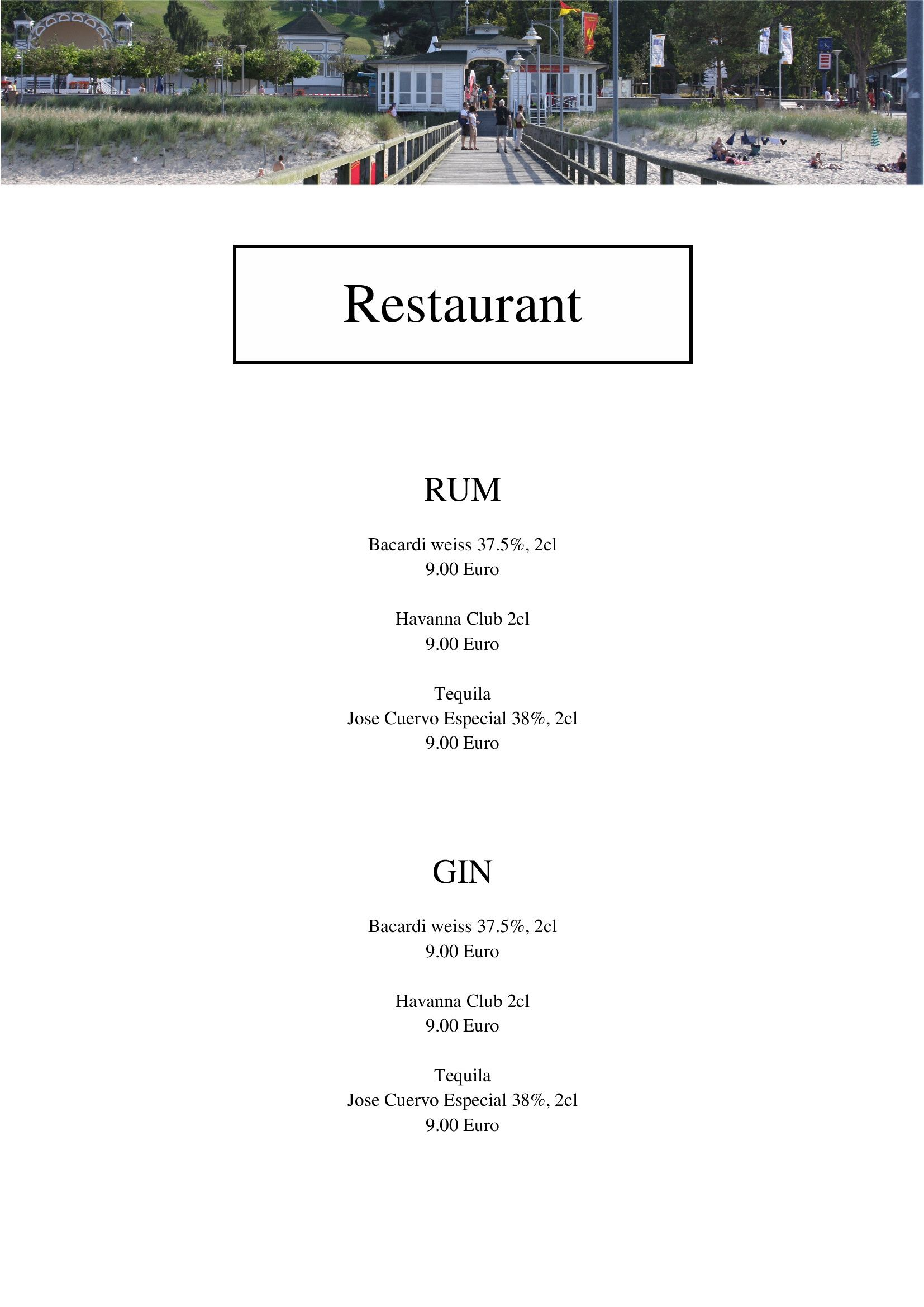 """Egal ob Bar, Club, Bistro oder Restaurant. Diese Vorlage könnte Ihre sein. Klicken Sie auf """"Vorlage verwenden""""m klicken Sie auf die ELemente, Tauschen Sie das Bild durch eine eigenes aus und änderen Sie den Text. Diese Vorlage ist mit wenigen Klicks Ihre neue Karte."""