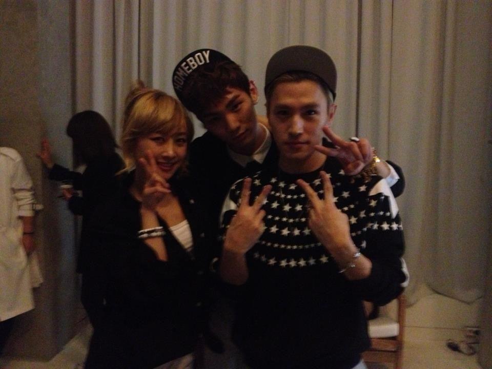 120927 Shinee s Key Jonghyun and Kara s Nicole Birthday