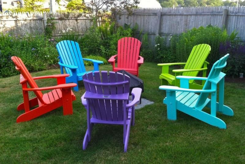 Exceptionnel Bright Colored Adirondack Chairs