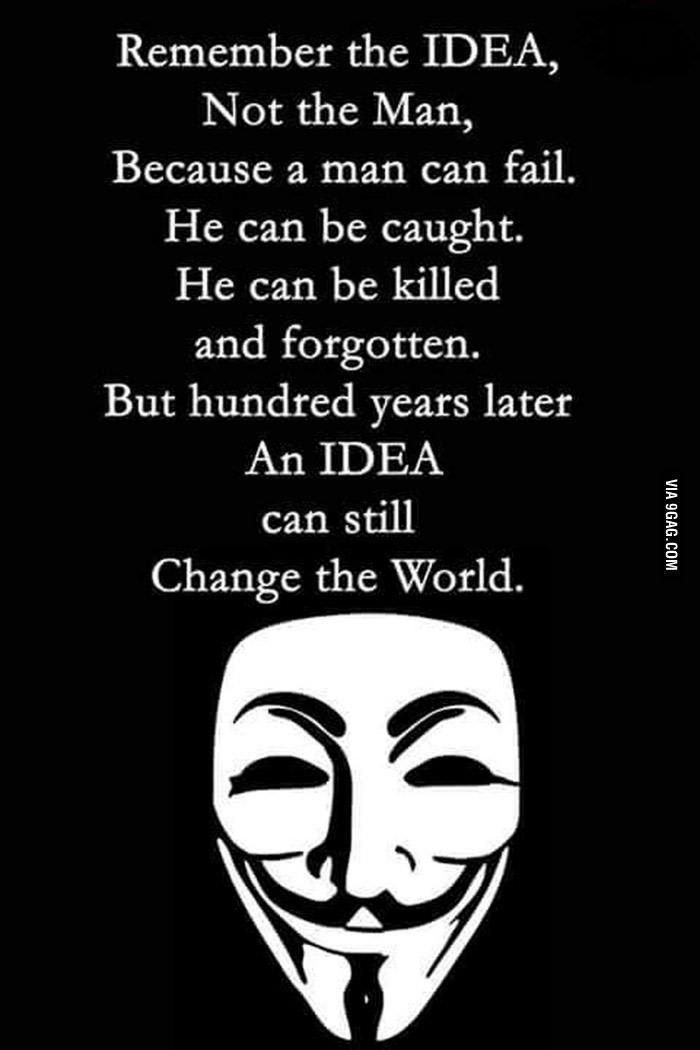 Remember The Idea V For Vendetta Quotes Vendetta Quotes V For Vendetta