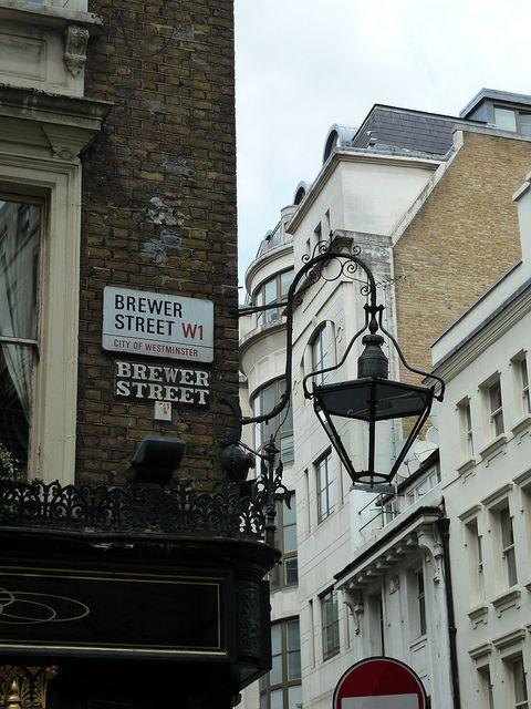 Brewer Street, W1 | Farola, La calle y Londres