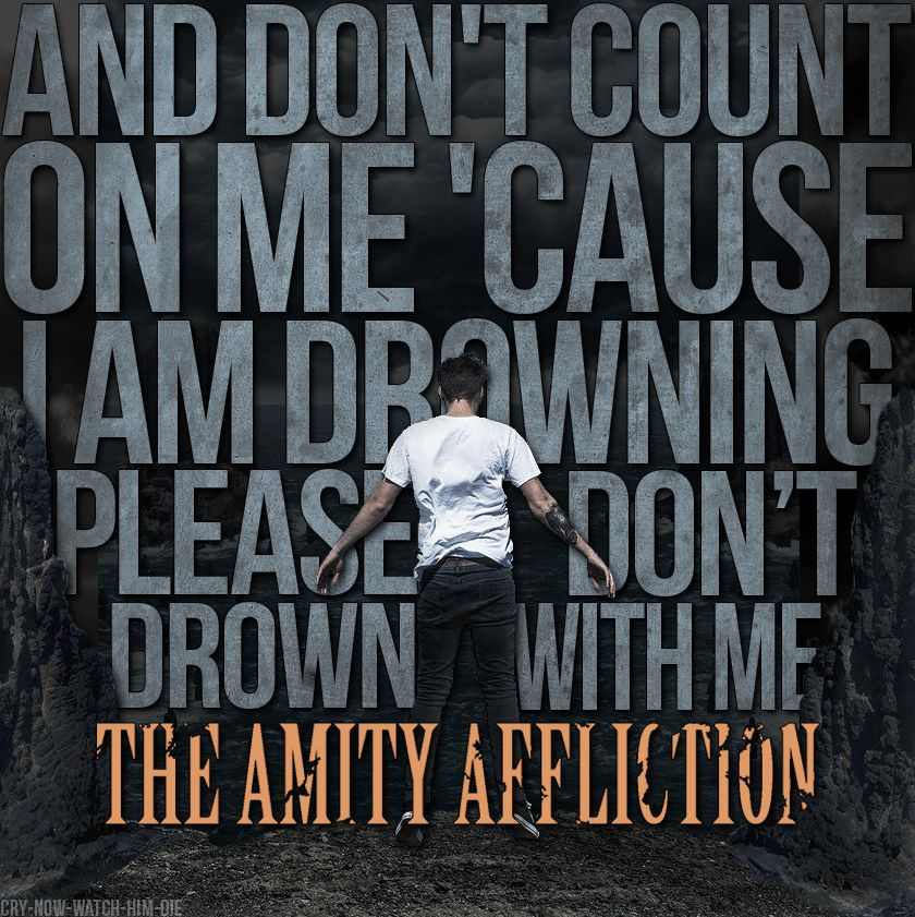 Lyric lean on me with lyrics : The Amity Affliction // Don't Lean On Me | Lyri cs ...