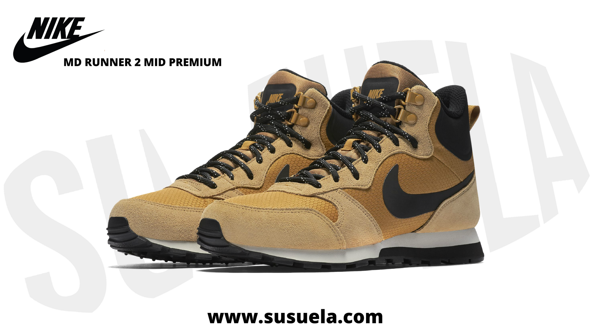 best cheap bd3b4 d4561 Nike MD RUNNER 2 MID PREMIUM en SUSUELA ! Bota retro muy cómoda y elegante.