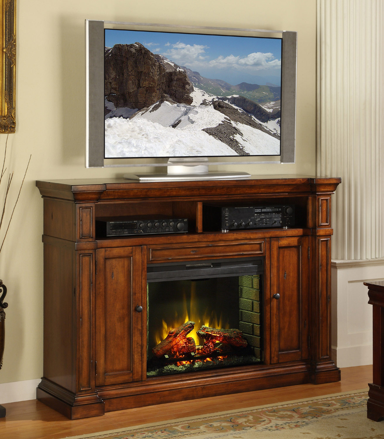 Fireplace media center legends home gallery stores trend