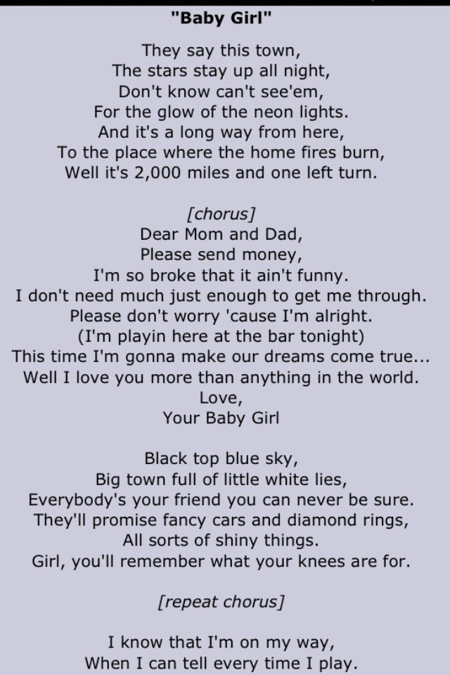 When I M With My Baby Lyrics : lyrics, Sugarland, Great, Lyrics,, Lyric, Quotes