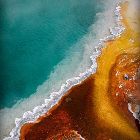 Hot Spring Explosion - Yellowstone National Park by Gary Marks