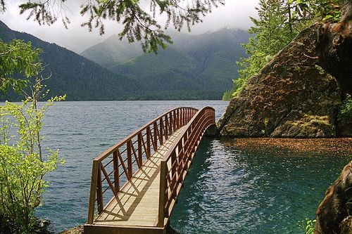 Image result for lake crescent olympic national park