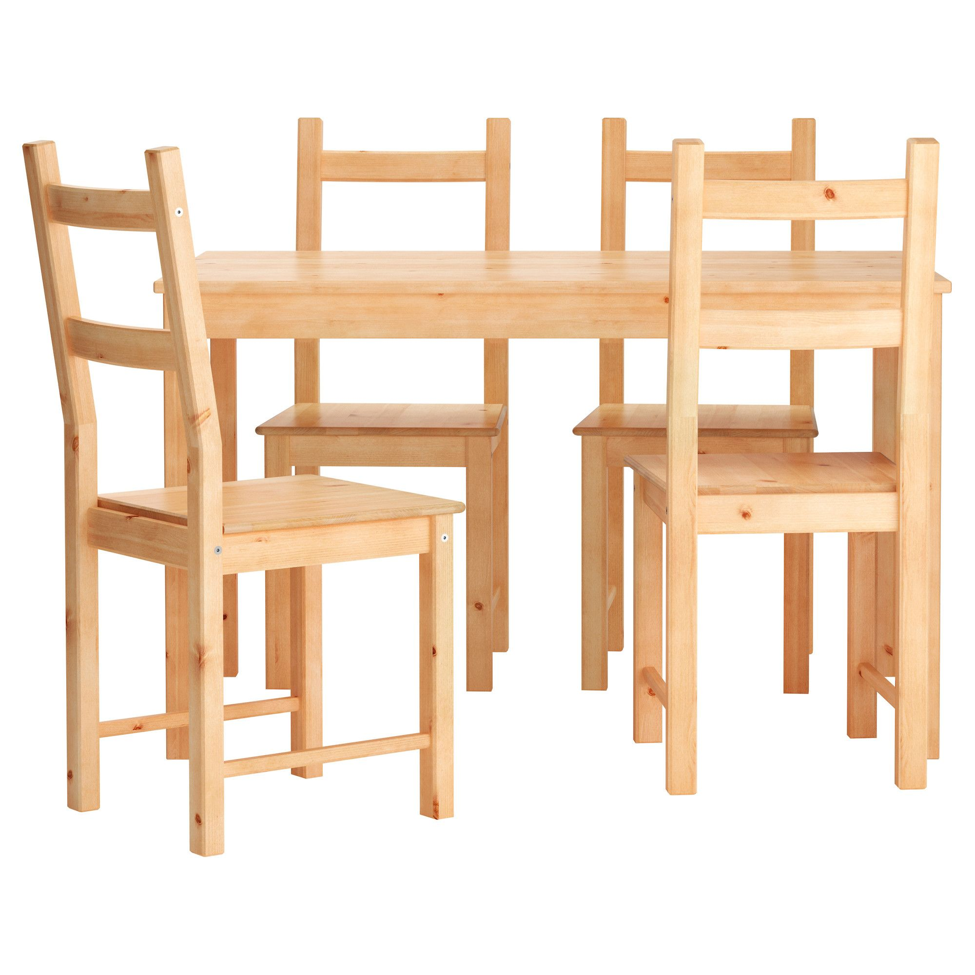 INGO/IVAR Mesa con 4 sillas - IKEA | Decoración | Muebles de comedor ...