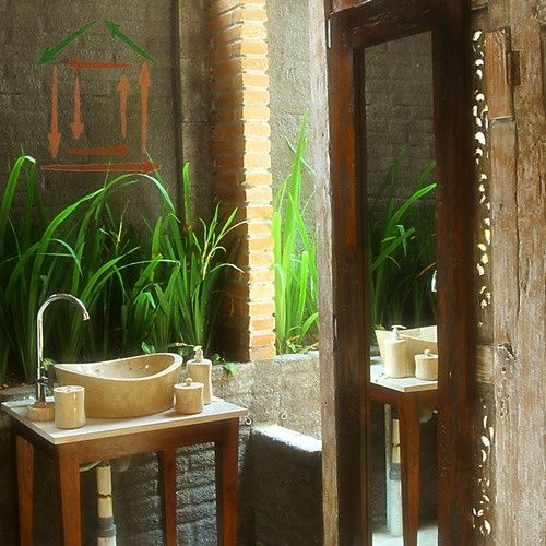 Cotemporarry Tropical Bathroom Decor Ideas That Back To Nature :  Mesmerizing Tropical Bathroom Decor Ideas Tall