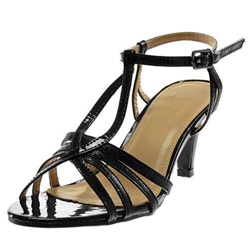 Mode Sandale Salomés Lanière Escarpin Cheville Chaussure Angkorly qzpUMVS